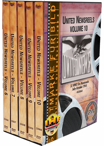 United Newsreels 5 DVD Set (Volumes 6-10)