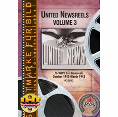United Newsreels Volume 3 DVD