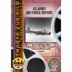 US Army Air Force Report DVD