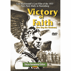 Victory of Faith Deluxe Remastered DVD (Der Sieg des Glaubens) Educational Edition