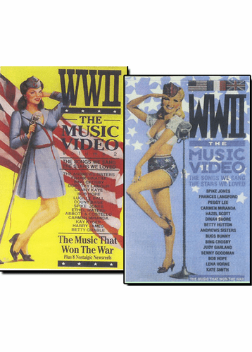 WW2 The Music Videos: The Songs We Sang, The Stars We Loved DVD