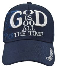 God Is Good All The Time Blue Hat