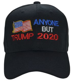 Anyone But Trump 2020 Black Hat  - Click to enlarge