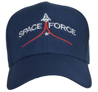 Space Force Blue Hat - Click to enlarge