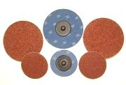 "2"" Type R  Surface Prep Discs, Coarse (Brown), Pack of 50."