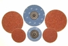 """3"""" Type R  Abrasive Discs, 36 Grit, Pack of 25."""