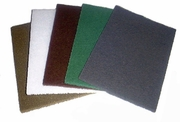 """6"""" by 9"""" Hand Pads, General Purpose (Maroon), Pack of 10."""