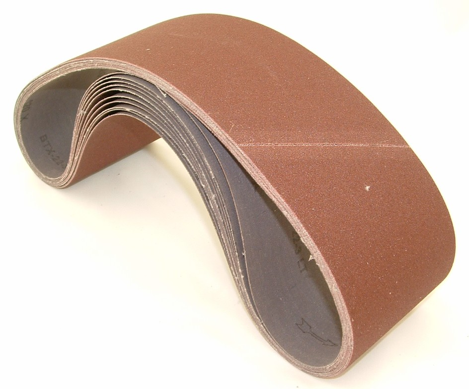 6 X 89 Inch 150 Grit Silicon Carbide Sanding Belts 2 Pack
