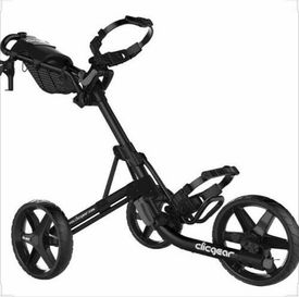 Clicgear 4 Golf Push Cart Charcoal/Black ONE AVAILABLE!