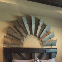 1/2 Windmill Wall Plaque