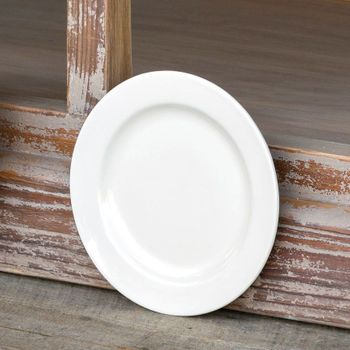 8in Creamware Salad Plate (Set-4)
