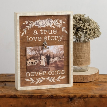 A True Love Story Photo Frame