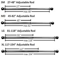 Adjustable Drapery Rods by Amore