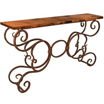 Alexander Console Table w/ Top