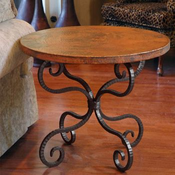 """Alexander End Table with 30"""" Top"""