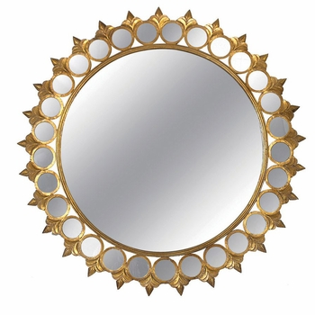 Alure Metal Framed Mirror