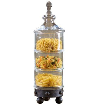 Amalfi 3-Tier Canister