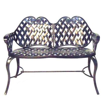 Arch Weave Settee