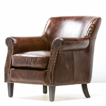 Arturo Leather Armchair