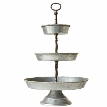 Ava 3-Tier Tray w/ Handle
