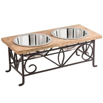 Barcelona Double Pet Feeder