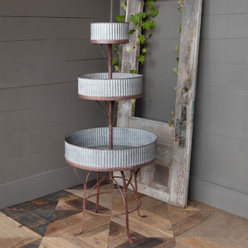 Barnside Potted Plant Tower