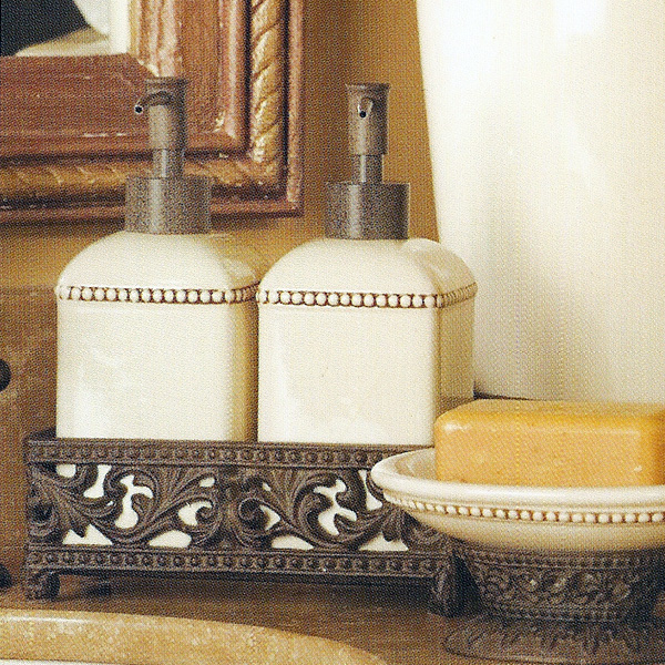 The GG Collection Bathroom Set (2-piece) - Iron Accents