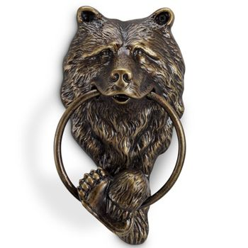 Bear Head Door Knocker