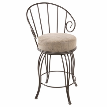 Bella Wrought Iron Bar Stool