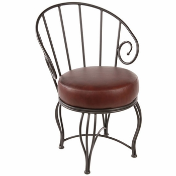 Bella Wrought Iron Chair