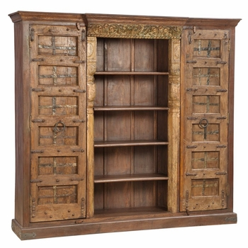 Bella Reclaimed Wood Bookcase