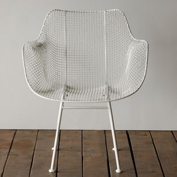 Biscayne Wire Chair - White (Set)
