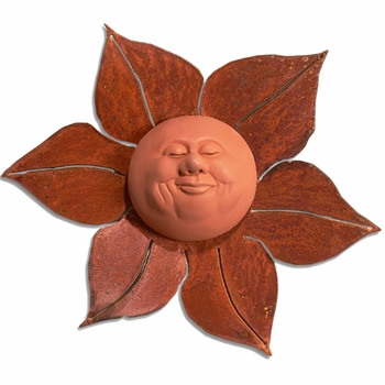Blissful Sun Wall Plaque