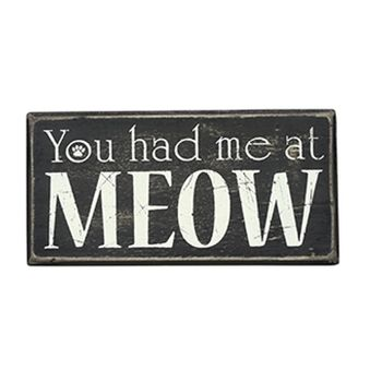 Box Sign - At Meow