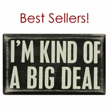 Box Sign Best Sellers!