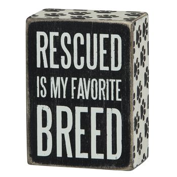 Box Sign - Favorite Breed