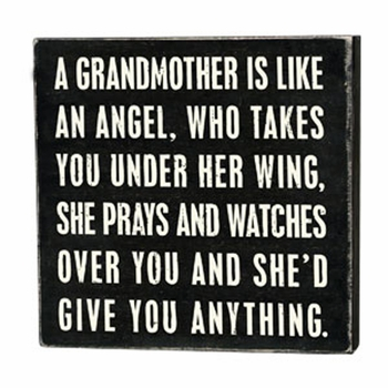 Grandmother - Box Sign