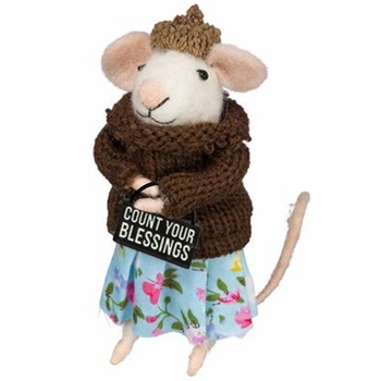 Box Sign Mouse - Blessings -CS