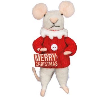 Box Mouse - Merry Christmas