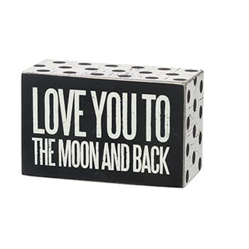 Box Sign - To The Moon -CS