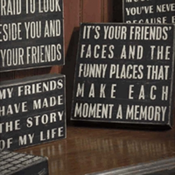 Friends & Colleagues Signs