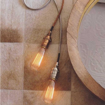 Braided Cord Pendant Lamp -CS