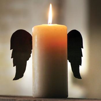 Rustic Tin Candle Wings Set
