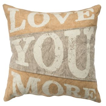 Canvas Pillow - Love U More