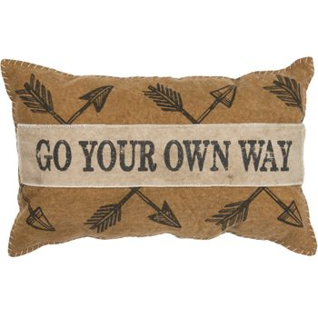 Canvas Pillow - Your Own Way