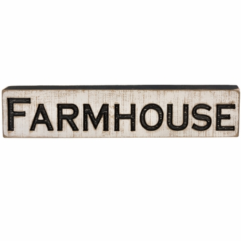 Carved Sign - Farmhouse