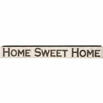 Carved Sign - Home Sweet Home