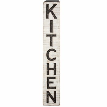 Carved Sign - Kitchen