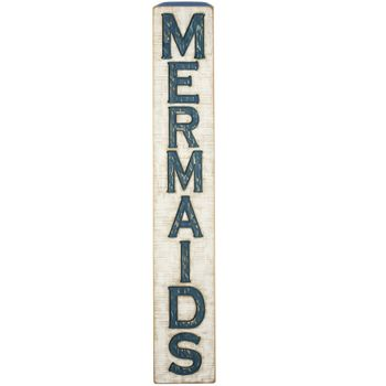 Carved Sign - Mermaids