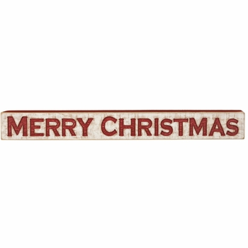 Carved Sign - Merry Christmas